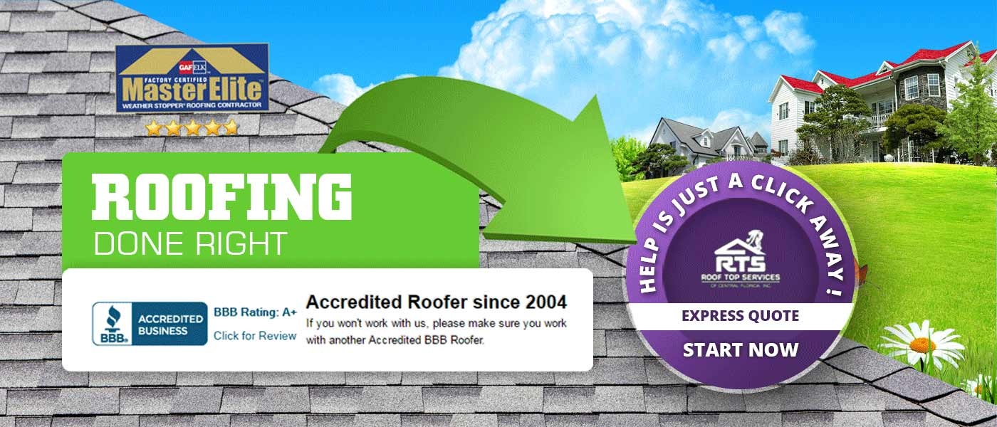 local roofing contractors in Orlando