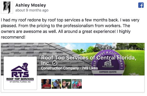 roof top services of central florida review