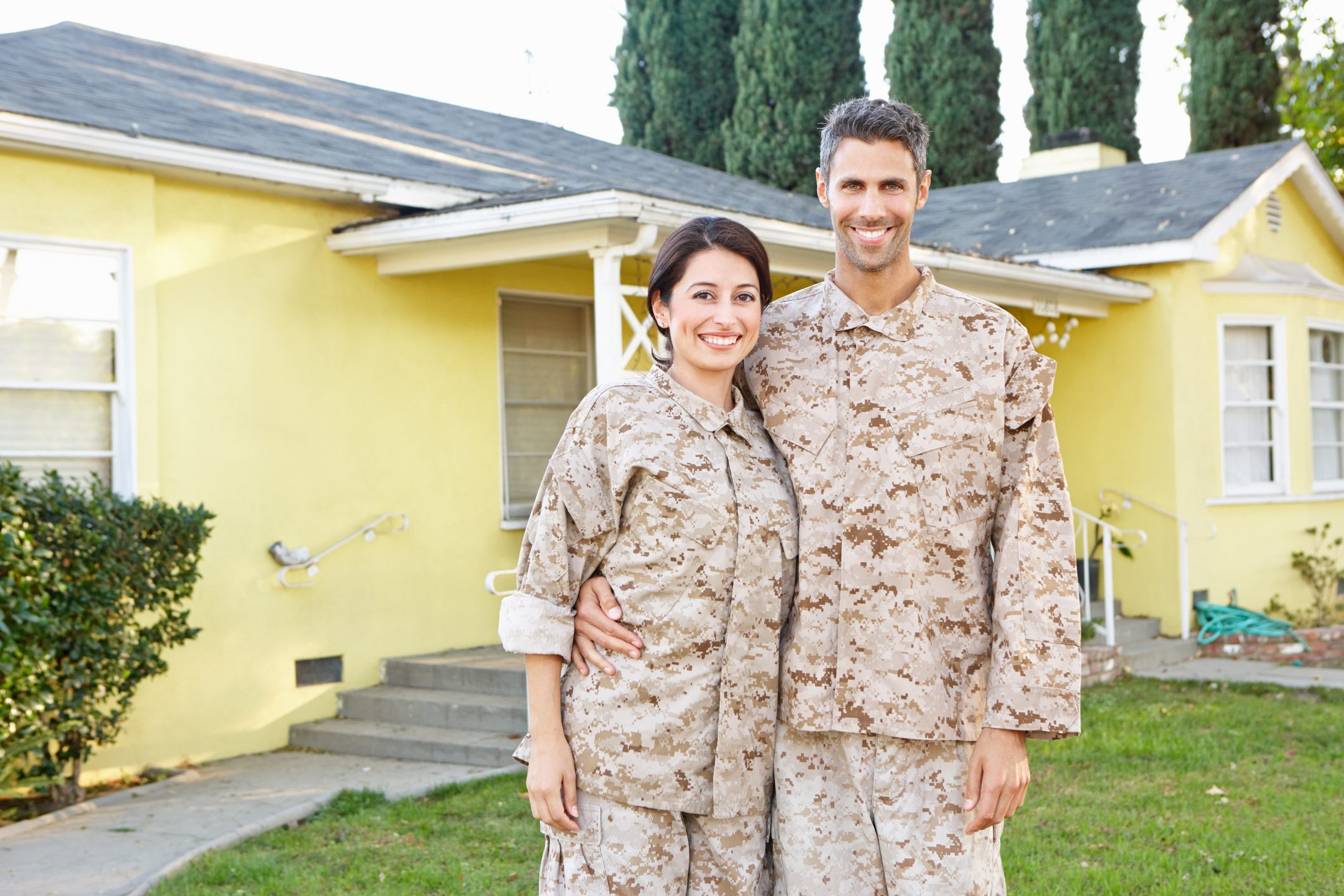 Military Couple Gets Roofing Benefits